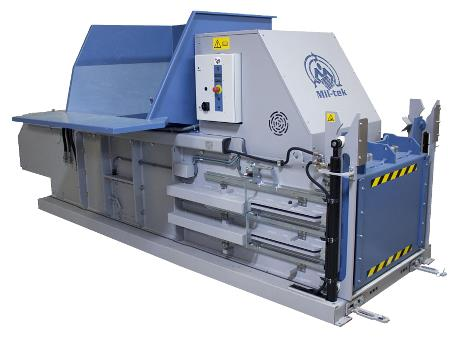 HZT600 Horizontal Waste Press